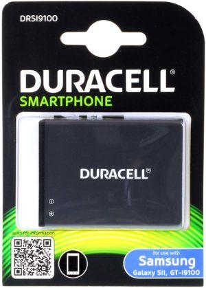 Μπαταρία κινητού τηλεφώνου Duracell   Samsung Galaxy S2/GT-I9100/ type EB-F1A2GBU  3.8V 1700mAh Li-ion original  (BI9100-DB)