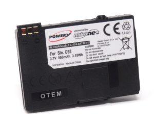 Μπαταρία κινητού τηλεφώνου   Siemens C55/A55/A60/C60/M55/MC60/S55  3.7V 800mAh Li-ion slim  (BS55-0.7L)