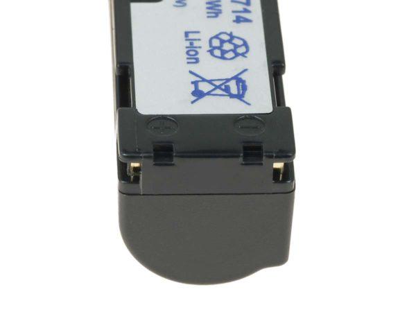 Μπαταρία βιντεοκάμερας    JVC BN-V712/ BN-V714  3.6V 2200mAh Li-ion  (C2712-1.6L)