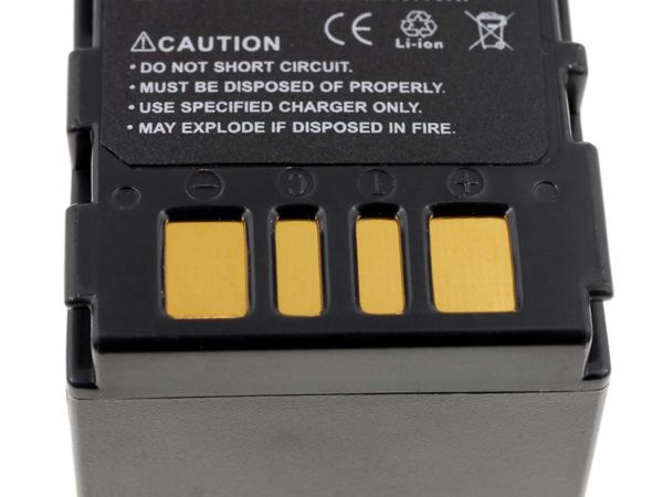 Μπαταρία βιντεοκάμερας    JVC BN-VF714   7.2V 1420mAh Li-ion  (C2714)