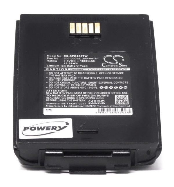 Μπαταρία VHF    Simoco-Sepura SRC3300 / SRG3500 / type SRP2000.1.1  7.4V 1800mAh Li-ion  (F9SRP2000)
