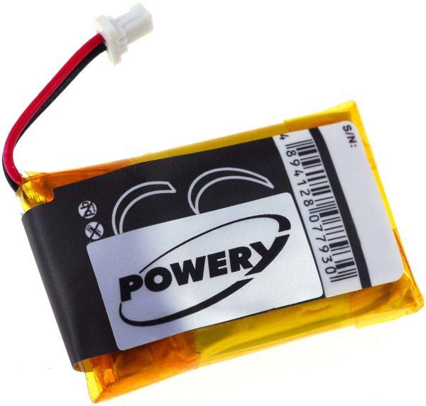 Μπαταρία ασύρματων ακουστικών   Sony DR-BT21/ type BP-HP300A  3.7V 350mAh Li polymer  (HBT21)