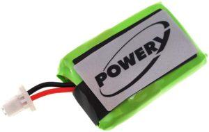 Μπαταρία ασύρματων ακουστικών   Plantronics CS540 / type 86180-01  3.7V 140mAh Li polymer  (HCS540)