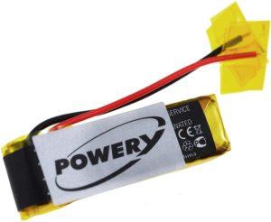 Μπαταρία ασύρματων ακουστικών   Plantronics Explorer 330 - 395 / type PA-PL002  3.7V 140mAh Li polymer  (HE395)