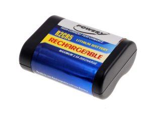 Μπαταρία φωτογραφικής μηχανής   2CR5/ 2CR5M  6V 500mAh Li-Fe  (K2CR5)