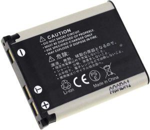 Μπαταρία φωτογραφικής μηχανής   Sanyo acti VPC-T1060 / type DS5370  3.7V 700mAh Li-ion  (K941)