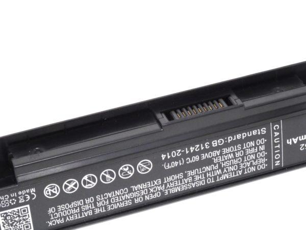 Μπαταρία για laptop    Karcher Asus X550 / A450 / type A41-X550  14.4V 5200mAh Li-ion  (N9X550-E)