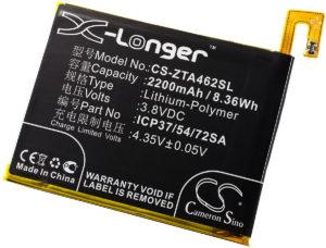 Μπαταρία smartphone    ZTE Blade A310 / type ICP37/54/72SA  3.8V 2200mAh Li polymer  (P9A310)