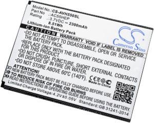 Μπαταρία smartphone    Archos A55 Helium / type AC55HEP  3.7V 2300mAh Li-ion  (P9A55H)