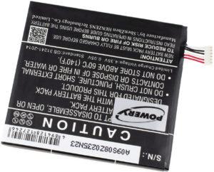 Μπαταρία smartphone    Alcatel One Touch Idol 3 4.7 / OT-6039 / type TLp020K2  3.8V 2000mAh Li polymer  (POT6039)