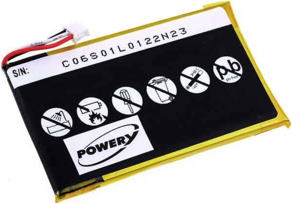 Μπαταρία ασύρματου τηλεφώνου   Philips S10A/  type PH454061  3.7V 1200mAh Li polymer  (SPS10)