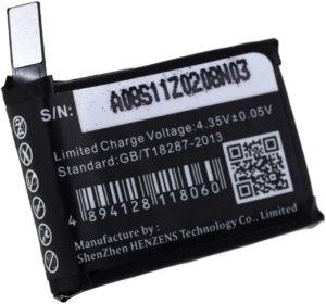 Μπαταρία για    Apple Watch A1553 / A1554 / type A1578  3.8V 200mAh Li polymer  (V4A1578)