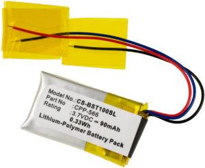 Μπαταρία για    Beats beats 2 / type CPP-566  3.7V 90mAh Li polymer  (V9PB2)