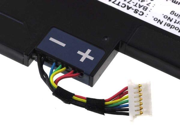 Μπαταρία για tablet    Acer Iconia Tab A100 / type BAT-711  7.4V 1500mAh Li-Ion  (NT0A100)