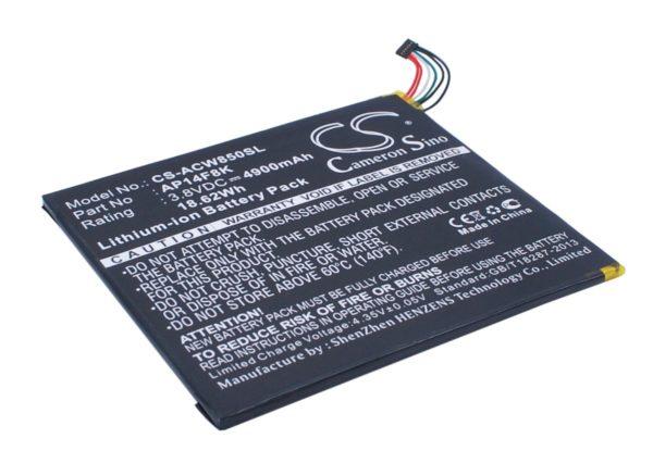 Μπαταρία για tablet    Acer Iconia One 8 / Iconia Tab A1-850 / type AP14F8K  3.8V 4900mAh Li-polymer  (NT0A1850)