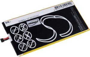Μπαταρία για tablet    Acer Iconia B1-720 / type AP13P8J  3.7V 2700mAh Li-Polymer  (NT0B1720)