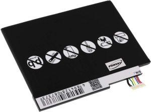 Μπαταρία για tablet    Acer Iconia Tab W3 / type AP13G3N  3.7V 6800mAh Li-Polymer  (NT0W3)