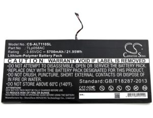"Μπαταρία για tablet    Alcatel One Touch Plus 10"" / OT-8085 / type TLp058AC  3.85V 5700mAh Li-Polymer  (NT9OT8085)"