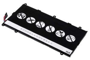 Μπαταρία για tablet   Samsung Galaxy Tab 7.0/ GT-P6200/ type SP4960C3B  3.7V 4000mAh Li-Polymer  (NT9P6200)