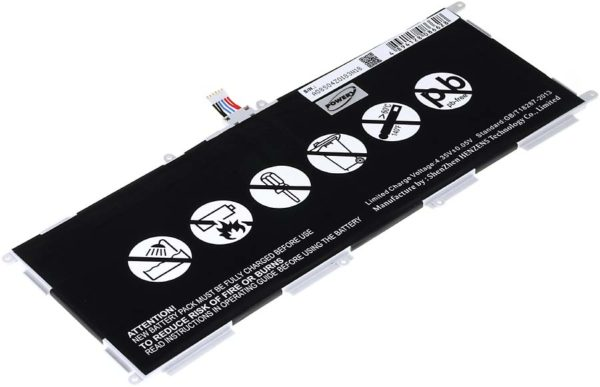 Μπαταρία για tablet    Samsung Galaxy Tab 4 Education / SM-T530 / type EB-BT530FBC  3.8V 6800mAh Li-Polymer  (NT9SMT530)