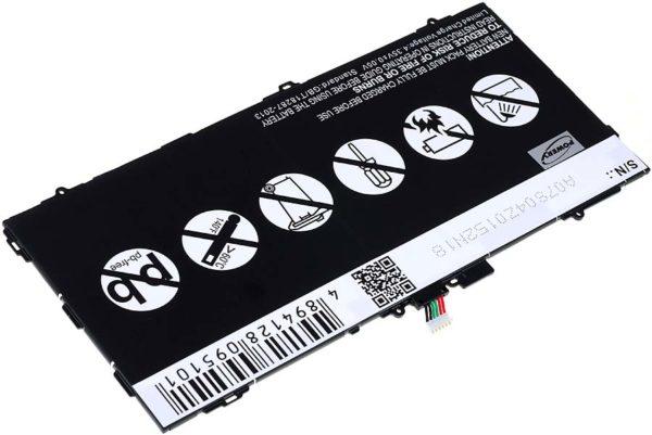 Μπαταρία για tablet   Samsung Galaxy Tab S 10.5 / SM-T800 WiFi / type EB-BT800FBC  3.8V 7900mAh Li-Polymer  (NT9SMT800)